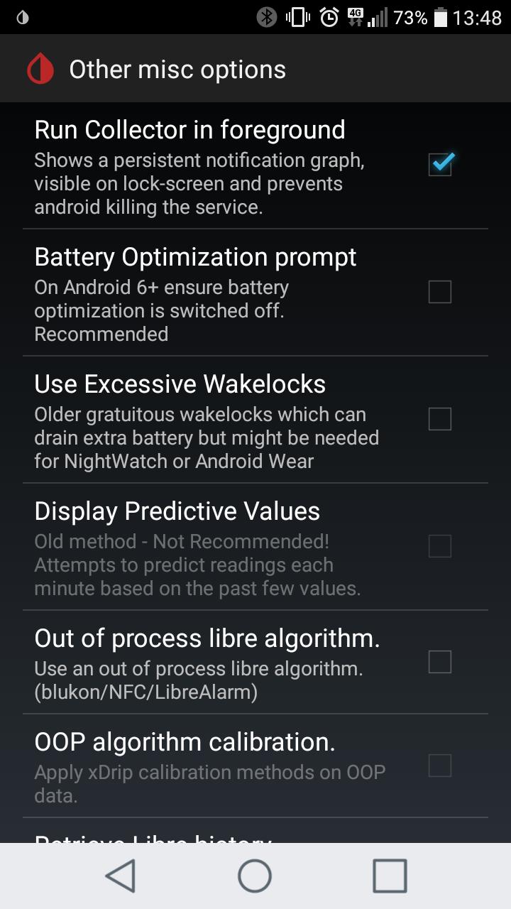 Turn off xDrip lock screen widget? | Diabetes Forum • The