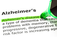 Alzheimer's is a form of dementia