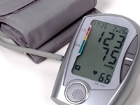 High blood pressure is a risk factor in developing diabetes complication