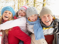 Cold weather can be fun but can also make blood testing difficult