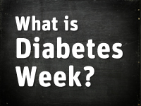 Diabetes Week 2019 takes place during 10-16 June