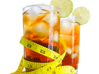 Diet soft drinks generally don't affect blood sugar levels