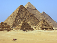 You can't go to Egypt without seeing the Pyramids