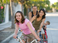 Exercise is important for keeping your family fit and healthy