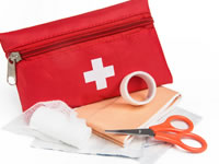 It's a good idea to have a diabetes 'first aid' kit for times of highs, lows and in emergencies