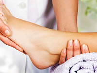 Regular foot examinations can ensure nerve damage is spotted immediately