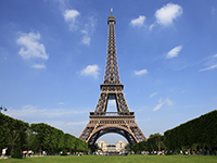 The Eiffel Tower - instantly recognisable