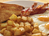 There are a number of causes for high blood glucose levels before breakfast