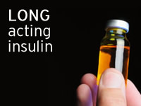 Long acting insulin is favoured by the NHS