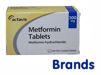 Metformin comes in a variety of brand names