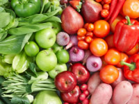 Raw food diets concentrate on fruit and vegetables