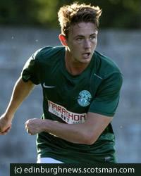 Hibernian  midfielder Scott Allan has always had to consider his type 1 diabetes when  playing football