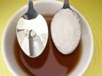 Sweeteners are divided into two groups: nutritive and non-nutritive