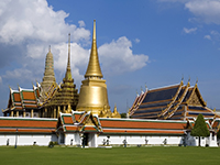 Thailand has an array of Buddhist temples