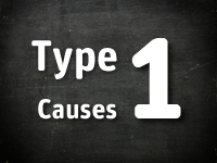 A multitude of causes of type 1 diabetes have been studied