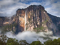 Venezuela is home to the highest uninterrupted waterfall in the world