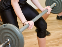 Weight training can help increase your metabolism