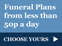 Funeral Plans from less than 50p a day - choose yours