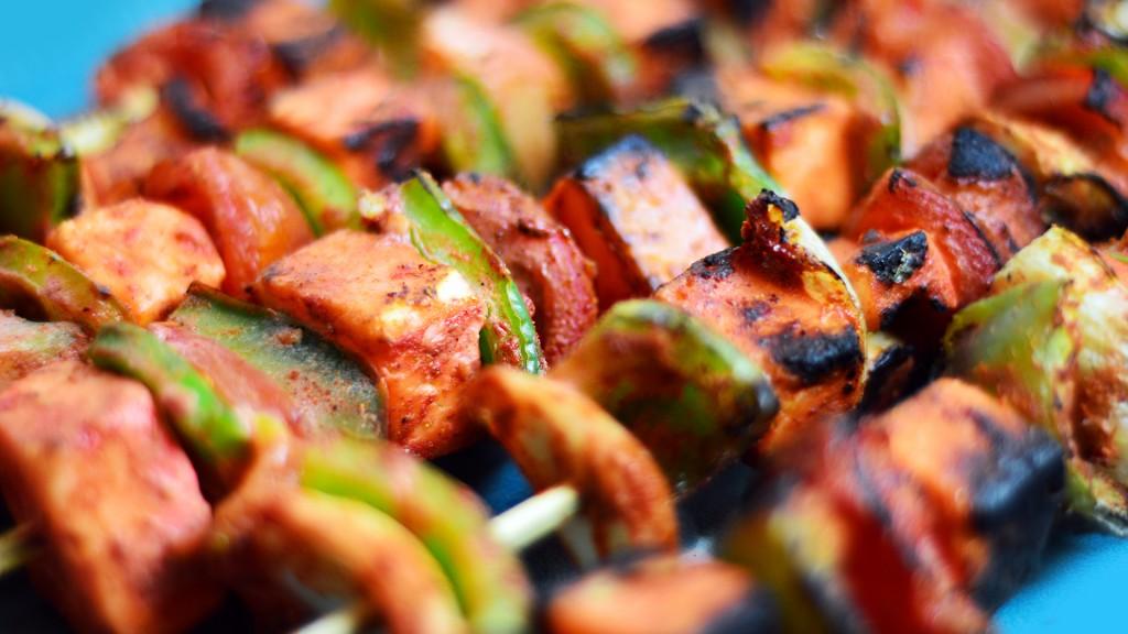 193 Tandoori Paneer Kebabs (BBQ) (2)