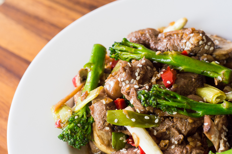 223 Lamb Stir Fry with Ginger (Chinese) (2)