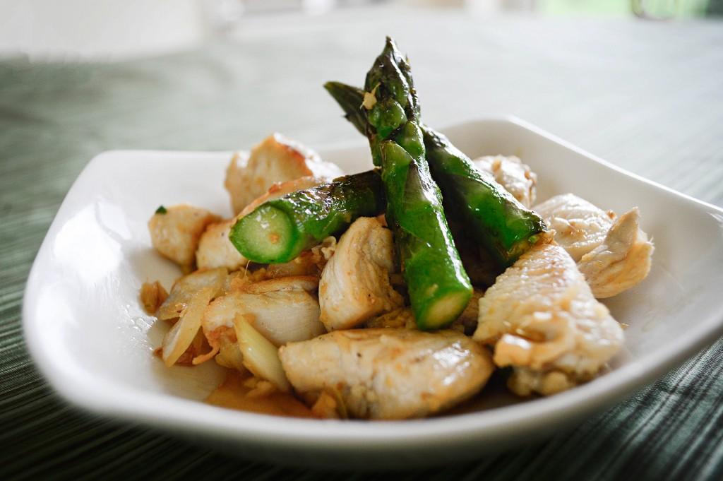 99 Chicken with Asparagus (Summer) (3)