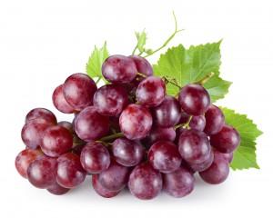 Red grapes sugar carbs