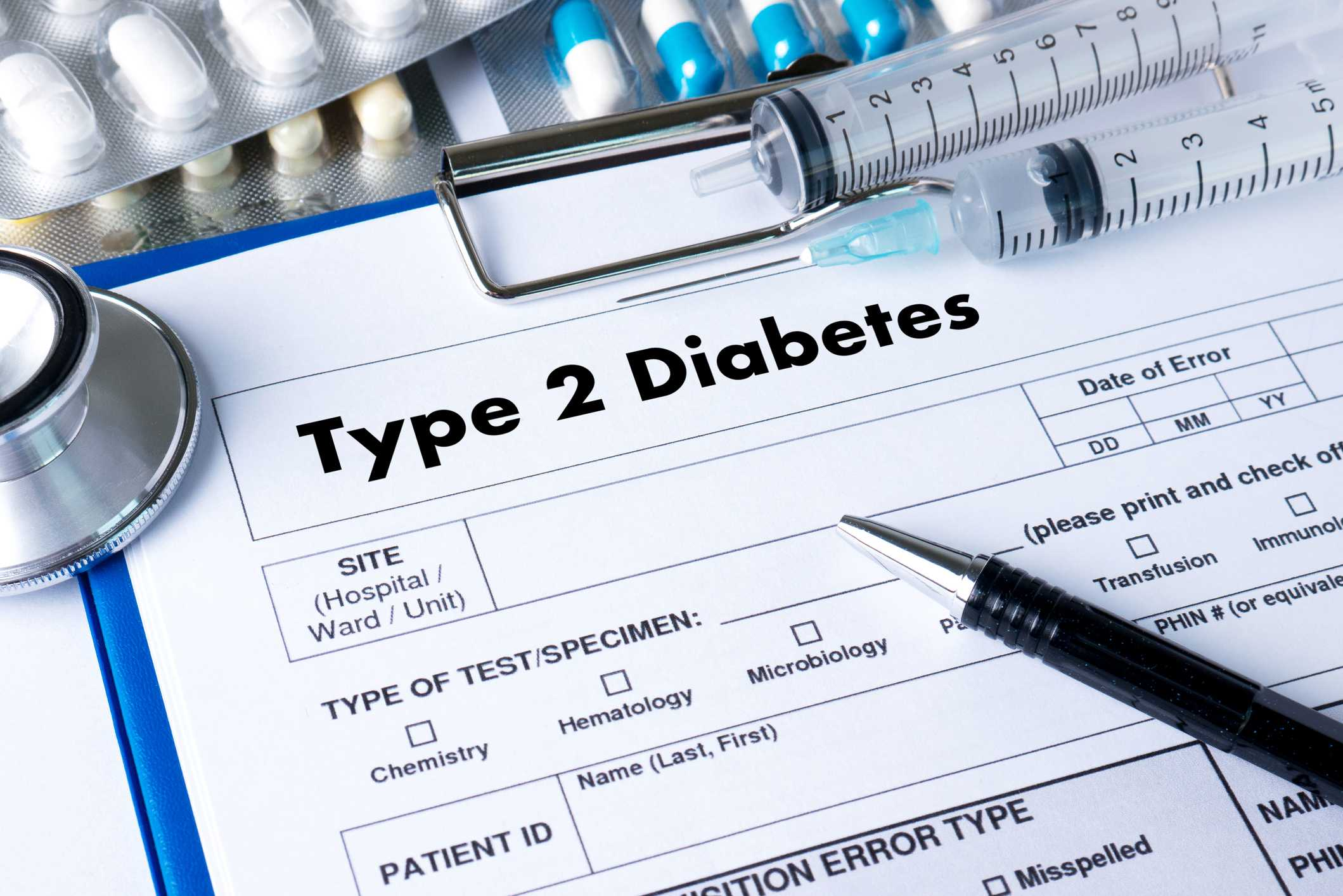 Type 2 Diabetes - 90% of People with Diabetes have Type 2